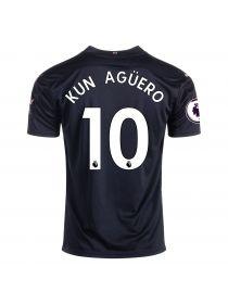 Футболка гостевая Манчестер Сити 2020-2021 Kun Aguero 10 (Серхио Агуэро)