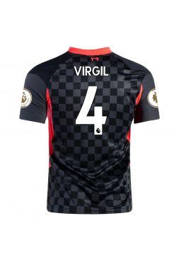 Футболка резервная Ливерпуль 2020-2021 Virgil 4 (Вирджил ван Дейк)