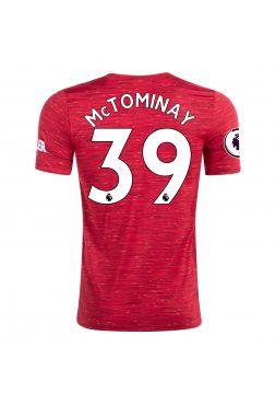 Футболка домашняя Манчестер Юнайтед 2020-2021 Mc Tominay 39 (Скотт Мактоминей)