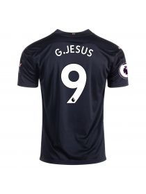 Футболка гостевая Манчестер Сити 2020-2021 G. Jesus 9 (Габриэл Жезус)