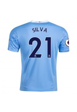 Футболка домашняя Манчестер Сити 2020-2021 Silva 21 (Бернарду Силва)