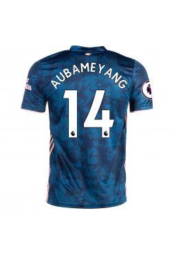 Футболка резервная Арсенал 2020-2021 Аubameyang 14(Обамеянг)