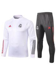 Спортивный костюм бело-черный Реал Мадрид