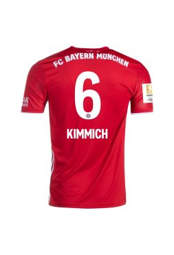 Футболка домашняяБавария Мюнхен 2020-2021 Kimmich 6 (Киммих)