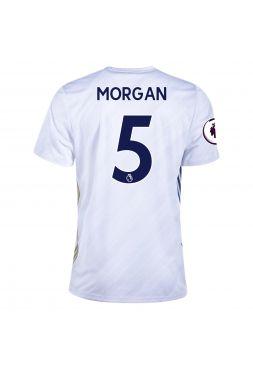 Футболка гостевая Лестер Сити 2020-2021 Morgan 5 (Уэс Морган)