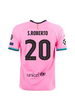 Футболка резервная Барселоны 2020-2021 S Roberto 20 (Роберто)