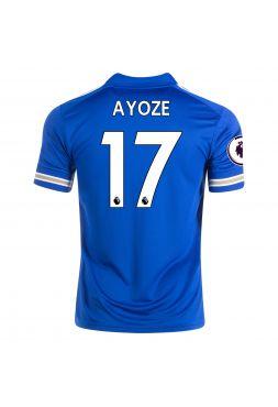 Футболка домашняя Лестер Сити 2020-2021 Ayoze 17 (Айосе Перес)