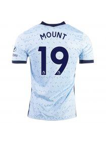Футболка гостевая Челси 2020-2021 Mount 19 (Мейсон Маунт)
