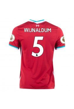 Футболка домашняя Ливерпуль 2020-2021 Wijnaldum 5 (Джорджиньо Вейналдум)