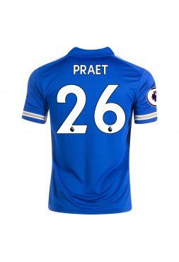 Футболка домашняя Лестер Сити 2020-2021 Praet 26 (Деннис Прает)