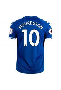 Футболка домашняя Эвертон 2020-2021 Sigurdsson 10 (Гильфи Сигурдссон)