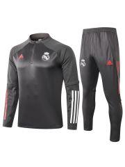 Спортивный костюм темно-серый Реал Мадрид
