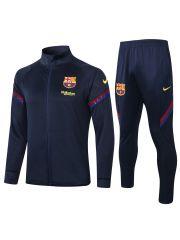 Спортивный костюм темно-синий Барселона с молнией