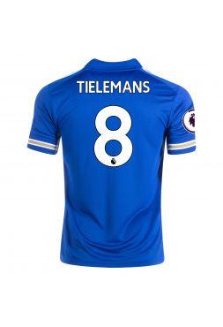 Футболка домашняя Лестер Сити 2020-2021 Tielemans 8 (Юри Тилеманс)