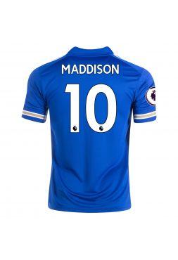 Футболка домашняя Лестер Сити 2020-2021 Maddison 10 (Джеймс Мэддисон)