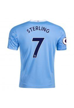 Футболка домашняя Манчестер Сити 2020-2021 Sterling 7 (Рахим Стерлинг )