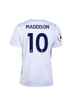 Футболка гостевая Лестер Сити 2020-2021 Maddison 10 (Джеймс Мэддисон)