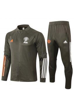 Спортивный костюм хаки Манчестер Юнайтед с молнией