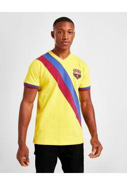 Ретро футболка гостевая Барселона 1978 год