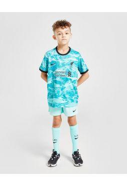 Футбольная форма детская гостевая Ливерпуль 2020-2021