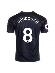 Футболка гостевая Манчестер Сити 2020-2021 Gundogan 8 (Илкай Гюндоган)