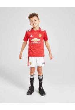 Футбольная форма детская домашняя Манчестер Юнайтед 2020-2021