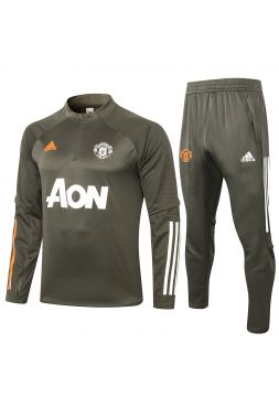 Спортивный костюм хаки Манчестер Юнайтед