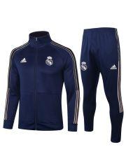 Спортивный костюм синий Реал Мадрид с молнией