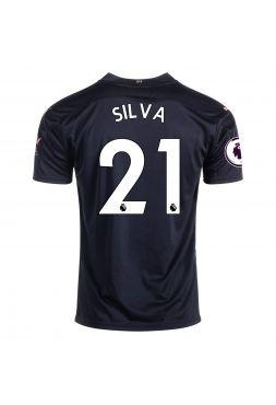 Футболка гостевая Манчестер Сити 2020-2021 Silva 21 (Бернарду Силва)