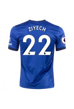 Футболка домашняя Челси 2020-2021 Ziyech 22 (Зиеш Хаким)