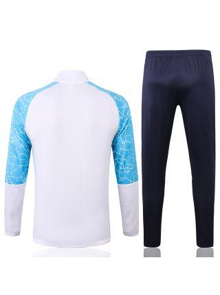 Спортивный костюм светло-синий Манчестер Сити с молнией
