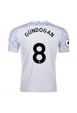 Футболка резервная Манчестер Сити 2020-2021 Gundogan 8 (Илкай Гюндоган)