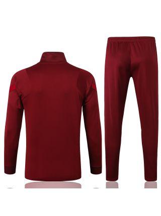 Спортивный костюм бордовый Ливерпуль с молнией