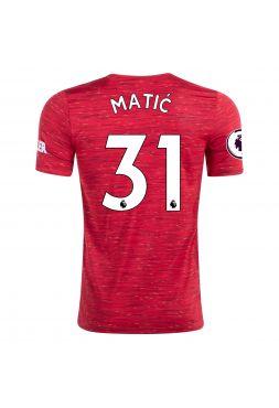 Футболка домашняя Манчестер Юнайтед 2020-2021 Matic 31 (Неманья Матич)