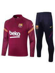 Спортивный костюм бордово-темно-синий Барселона