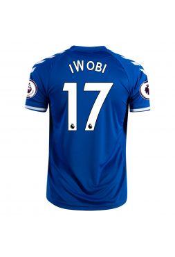 Футболка домашняя Эвертон 2020-2021 Iwobi 17 ( Алекс Ивоби)