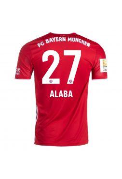 Футболка домашняя Бавария Мюнхен 2020-2021 Alaba 27 (Давид Алаба)