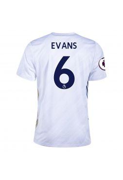 Футболка гостевая Лестер Сити 2020-2021 Evans 6 (Джонни Эванс)