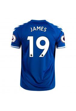 Футболка домашняя Эвертон 2020-2021 James 19 (Хамес Родригес)