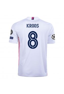 Футболка домашняя Реал Мадрид 2020-2021 Kroos 8 (Тони Кроос)