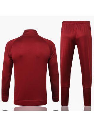 Спортивный костюм красный Манчестер Юнайтед с молнией