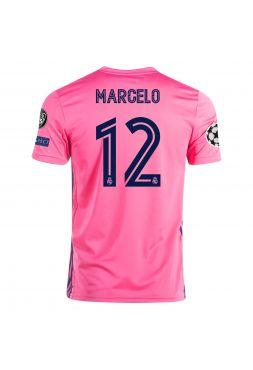 Футболка гостевая Реал Мадрид 2020-2021 Marcelo 12 (Марсело)