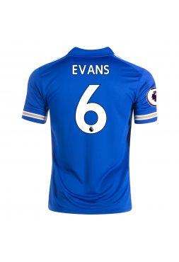 Футболка домашняя Лестер Сити 2020-2021 Evans 6 (Джонни Эванс)
