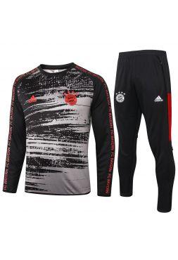 Спортивный костюм серо-черный Бавария Мюнхен