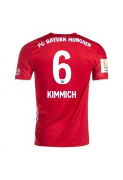 Футболка домашняя Бавария Мюнхен 2020-2021 Kimmich 6 (Йозуа Киммих)