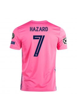 Футболка гостевая Реал Мадрид 2020-2021 Hazard 7 (Эден Азар)