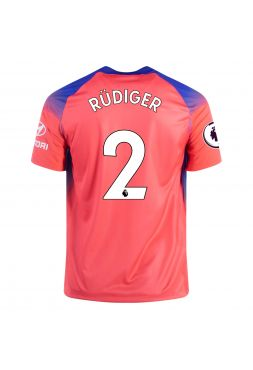 Футболка резервная Челси 2020-2021 Rudiger 2 (Рюдигер)