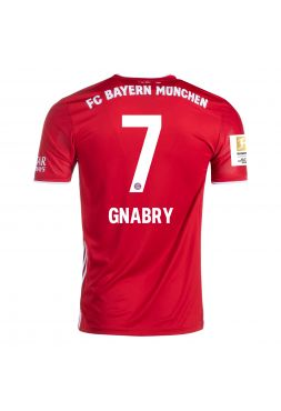 Футболка домашняя Бавария Мюнхен 2020-2021 Gnabry 7 (Серж Гнабри)