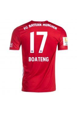 Футболка домашняяБавария Мюнхен 2020-2021 Boateng 17 (Боатенг)