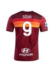 Футболка домашняя Рома 2020-2021 Dzeko 9 (Эдин Джеко)